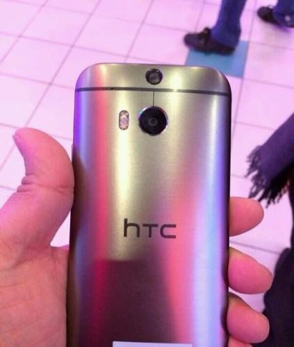 HTC M8 eller M8 Mini fångad på bild?