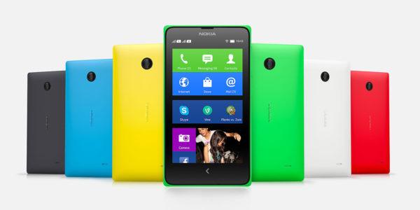 Nokia introducerar Androidbaserade telefonerna X, X+ och XL