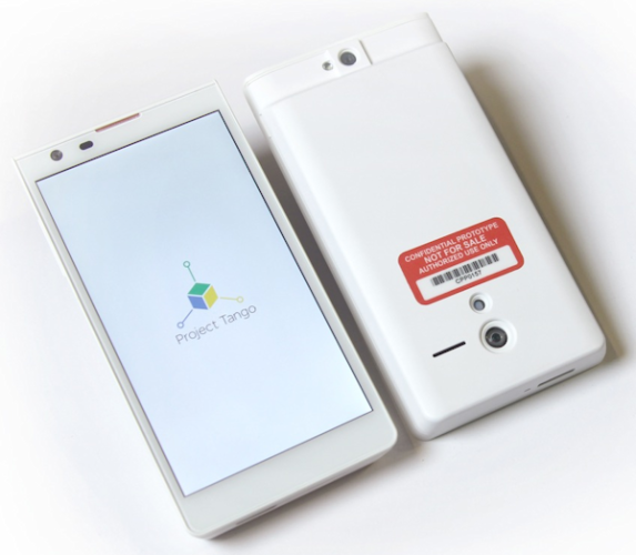 Google presenterar futuristiska Project Tango