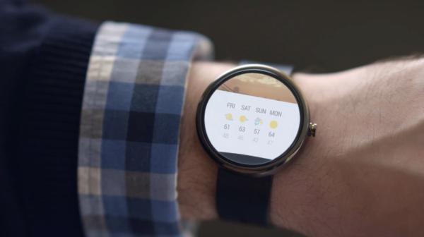 Google gör reklam för Android Wear