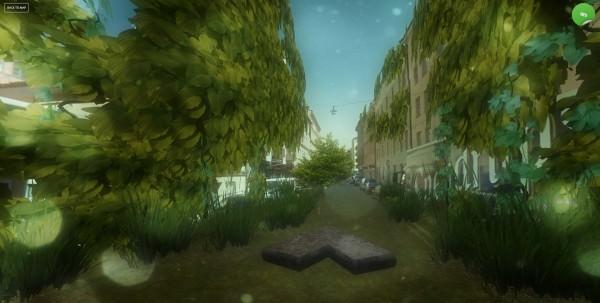Svensk skapar hemsida som förvandlar din stad till en post-apokalyptisk djungel