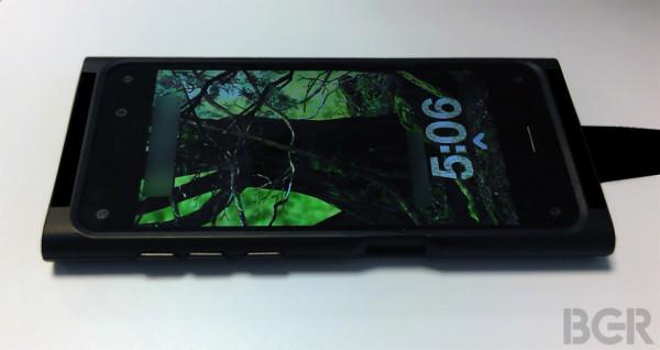Foton på prototyp av Amazons 3D-mobil?