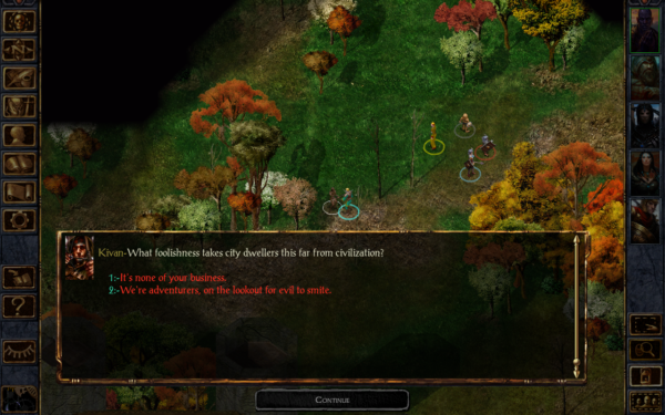 Baldur's Gate Enhanced Edition landar i Google Play