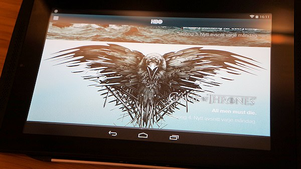 Test av strömningstjänsten HBO Nordic