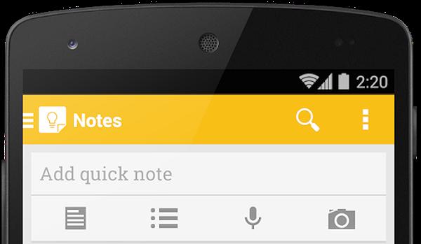 Google släpper större uppdatering av anteckningstjänsten Keep