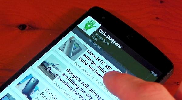 Paranoid Android tacklar återigen Androids aviseringar