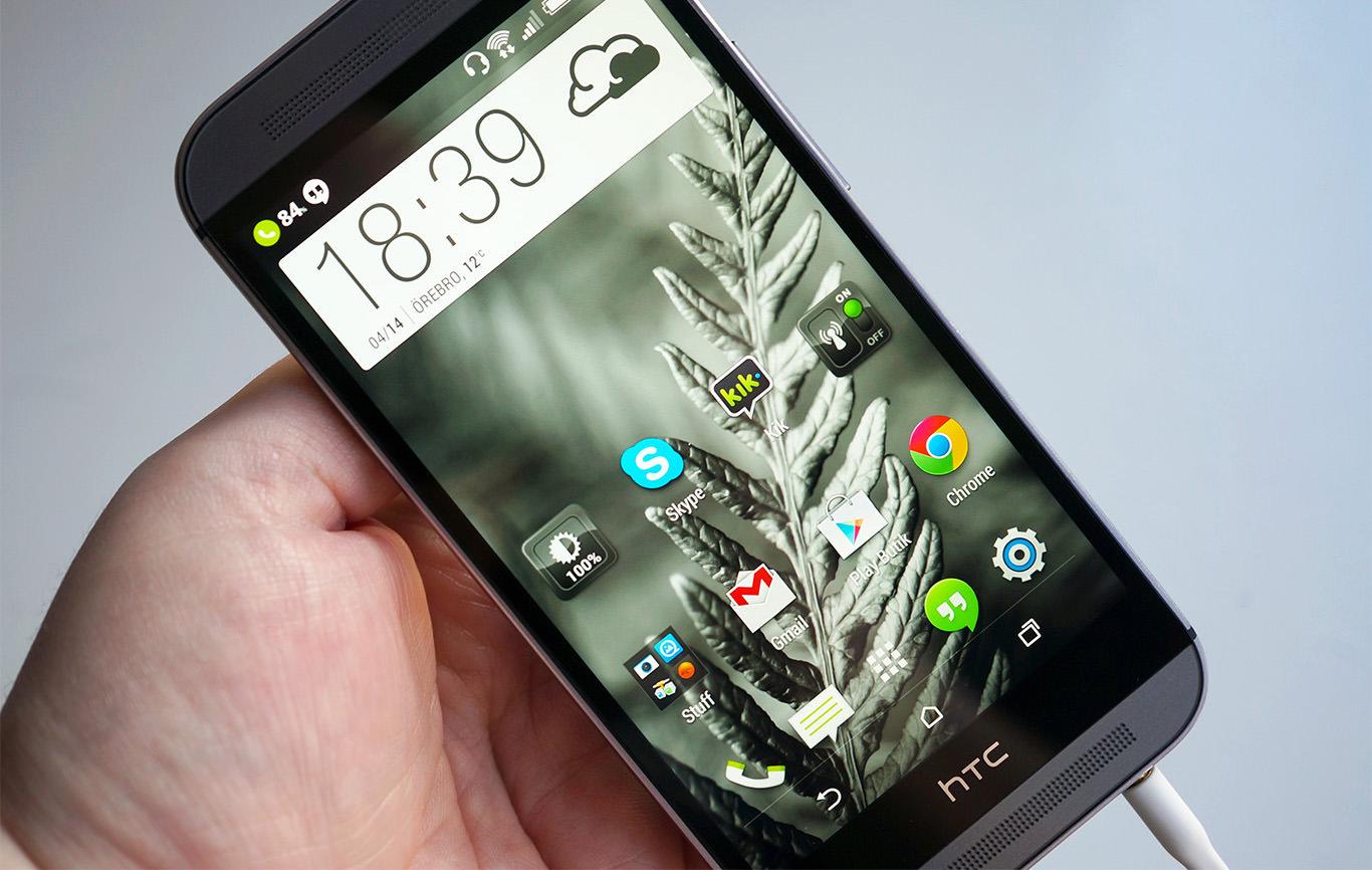 HTC One M8-ägare kan räkna med Android 5.1 och Sense 7.0 i ...