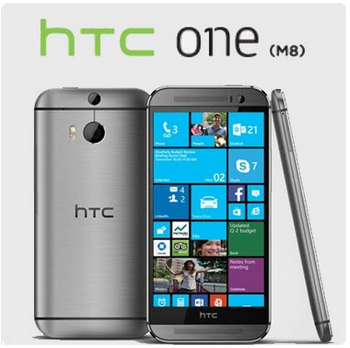HTC One M8 med… Windows Phone?