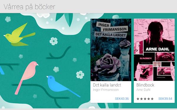 Påsk- och vårrea i Google Play på utvalda böcker och spel