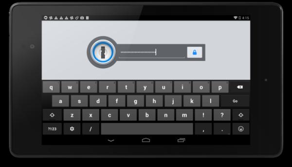 1Password för Android släpps 10:e juni