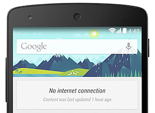 Google Now fungerar nu i offlineläge