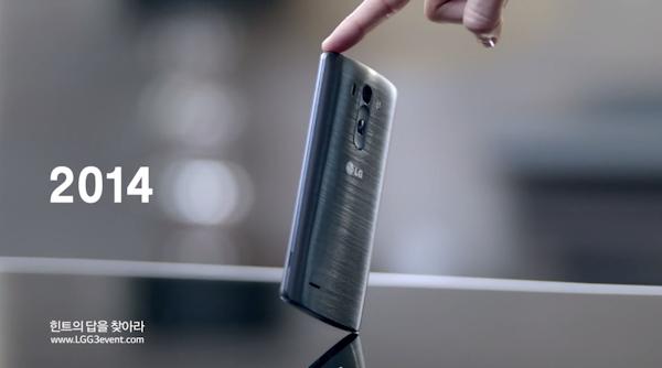 Senaste om LG G3: löstagbart batteri och en trio reklamsnuttar