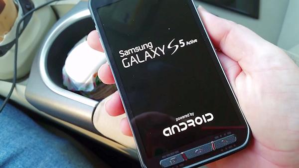 Video sägs visa prototyp av Galaxy S5 Active