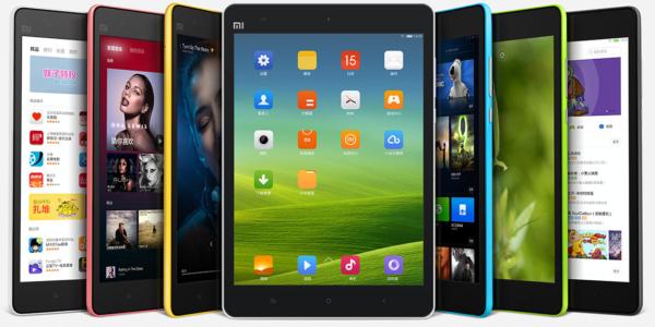 Xiaomi introducerar färggranna plattan MiPad