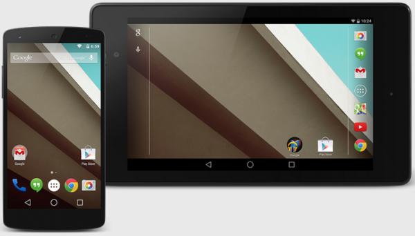 Förhandsversionen av Android L portad till Nexus 4