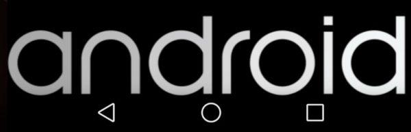 Skärmdumpar från Android L på Nexus 7 2013, inklusive Androids nya logotyp