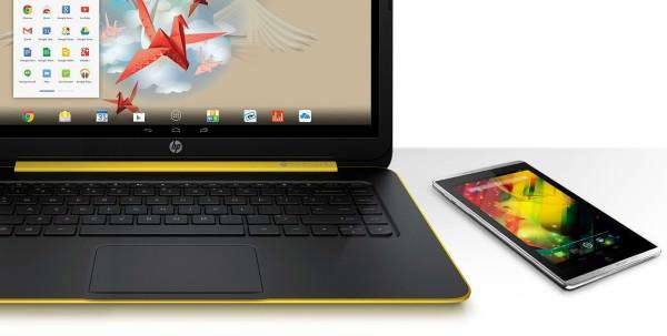 HP tillkännager ny Chromebook samt 14-tumslaptop med Android