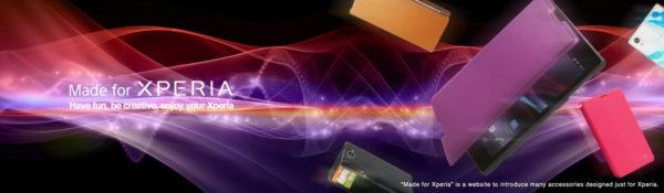 Sony skapar sajt för Xperia-tillbehör