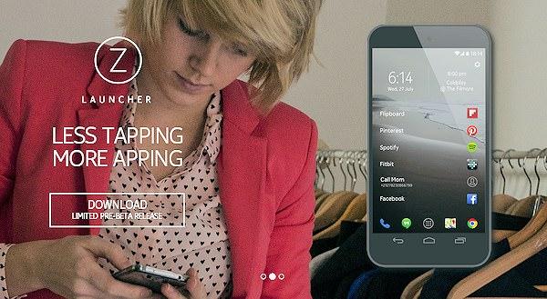 Z Launcher – ny hemskärmsapp från Nokia
