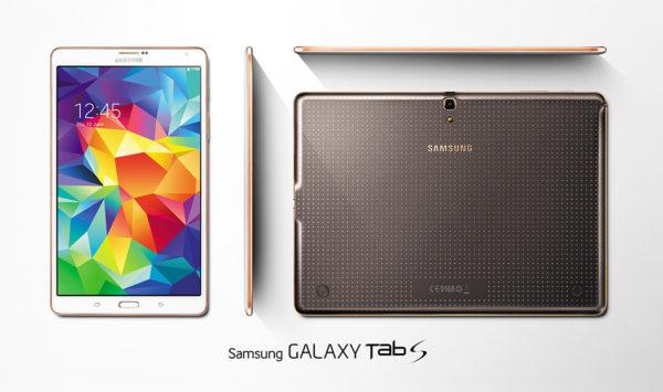 Samsung presenterar Galaxy Tab S 8.4 och 10.5, samt prisnivåer