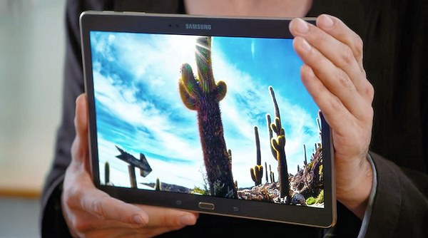 Samsungs egna hands on-video för Galaxy Tab S