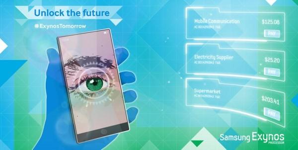Samsung anspelar på ögonscanner – sitter i nästa Galaxy?