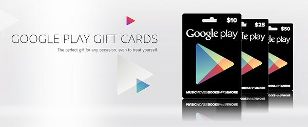 Presentkort blir äntligen tillgängliga i nordiska Google Play