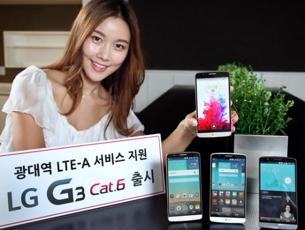 LG presenterar G3 med Snapdragon 805 i Sydkorea