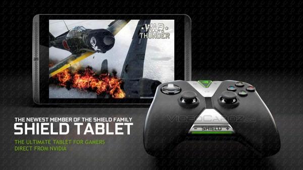 Alla uppgifter om Nvidia Shield Tablet läcker ut i förtid