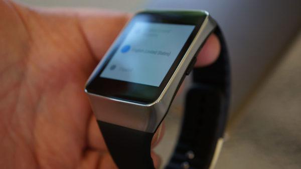 Vi snabbtestar Samsung Gear Live