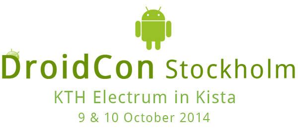 DroidCon 2014 Stockholm – vinn biljetter med Swedroid
