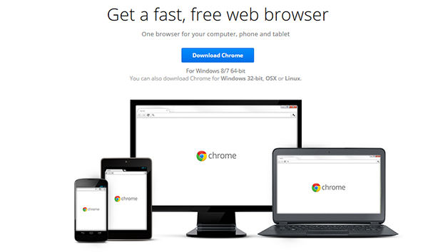Google släpper skarp 64-bitarsversion av webbläsaren Chrome