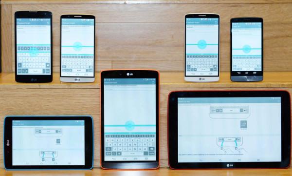 Gränssnittet i G3 blir standard för LG-telefoner