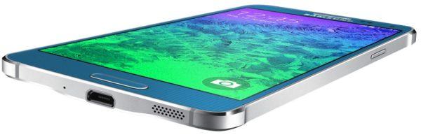 Samsung introducerar Galaxy Alpha med metallram