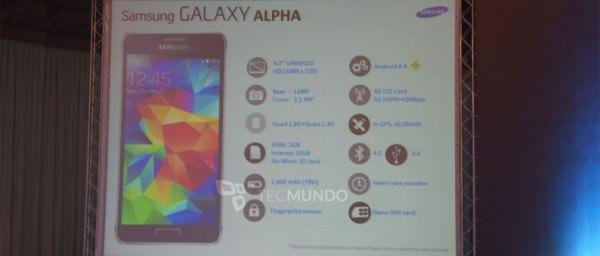 Specifikationer och pris för Samsung Galaxy Alpha enligt brasiliansk läcka
