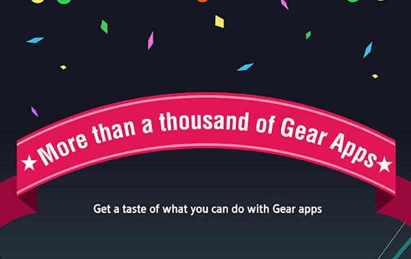 Samsungs smartklockor har nu 1000 appar