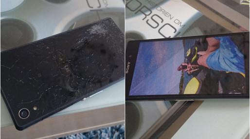 Sony Xperia Z2 sägs ha överlevt 6 veckor på 10 meters djup