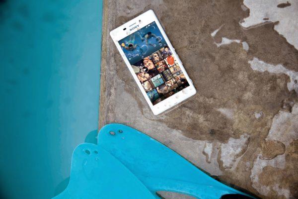 Sony tillkännager vattentäta Xperia M2 Aqua