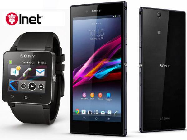 Vinn en ny mobil eller smartklocka från Sony med datorbutiken Inet