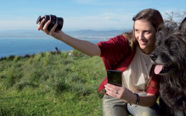 Sony tar systemkameran till telefonen med ILCE-QX1 & DSC-QX30/B