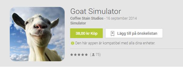 Goat Simulator anländer till Android