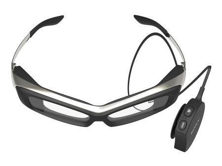 Sony visar upp prototyp av SmartEyeglass