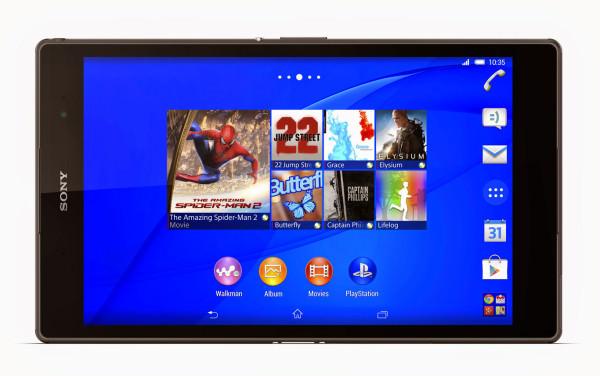 Sony Xperia Z3 Tablet Compact – världens tunnaste och lättaste 8-tums-platta