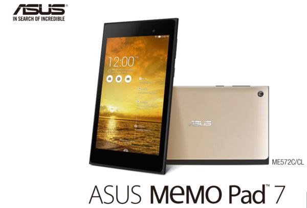 Asus Memo Pad 7 har 64-bitarsprocessor från Intel