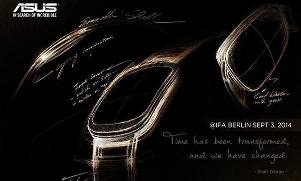 Följ ASUS presentation av ZenWatch live från IFA
