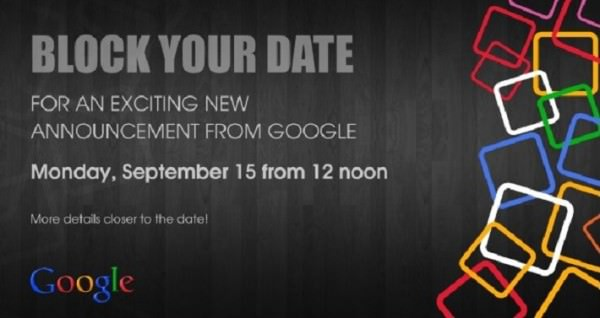 Google presenterar nyheter i Indien 15:e september
