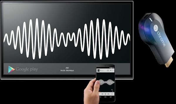 Erbjudande: Köp Chromecast från Google och få Play Music All Access i 90 dagar