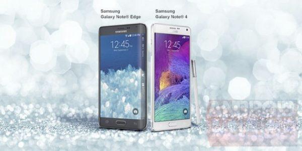 Första pressbilden på Galaxy Note 4 och Galaxy Note Edge?