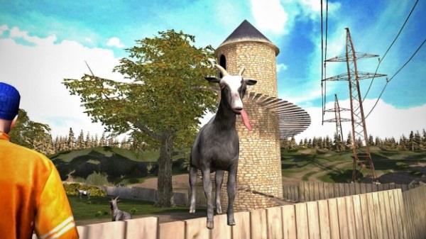 Svenska Goat Simulator har redan sålts i över 100 000 exemplar för mobiler