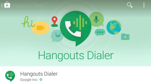 Hangouts för Android får ny design och Google Voice-stöd